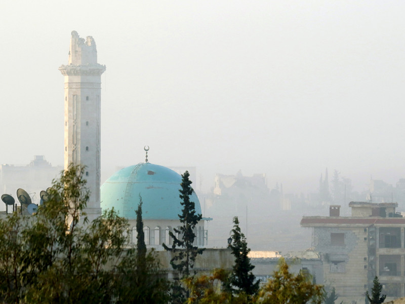 Алеппо, 29 октября 2016 года