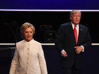 Отрыв Клинтон от Трампа впервые достиг двузначного числа, показал опрос
