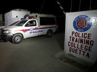 В Пакистане боевики при нападении на полицейскую академию убили около 60 курсантов