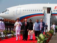 Путина в аэропорту Гоа встретили национальным танцем
