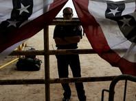 В Северной Каролине подожгли отделение Республиканской партии
