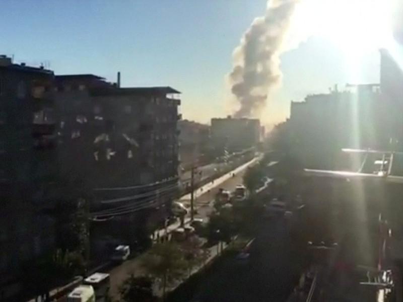 В турецком Диярбакыре прогремел мощный взрыв