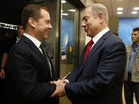"""""""Персона нон грата"""": в Израиле прошла акция протеста из-за официального визита Дмитрия Медведева"""