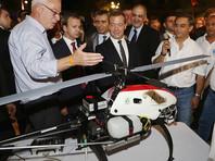Пульт от беспилотного вертолета, подаренного Медведеву, остался в Израиле, сообщает пресса