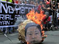 Тело филиппинского диктатора Фердинанда Маркоса с воинскими почестями похоронили на кладбище национальных героев