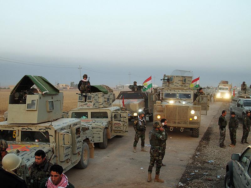 Массовое захоронение около 100 обезглавленных мирных жителей было обнаружено к югу от Мосула