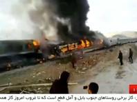 В Иране столкнулись два пассажирских поезда: 40 человек погибли, более 100 получили ранения