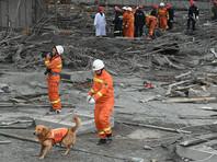 На месте ЧП идут спасательные работы. В них заняты 32 пожарных расчета. К поискам людей, оставшихся под завалами, привлечены девять специально обученных собак, а также два робота-спасателя