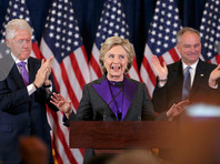 Клинтон выразила надежду, что Трамп будет успешным президентом