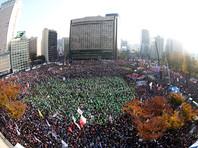 В Сеуле с требованиями отставки президента на улицы вышли до миллиона человек