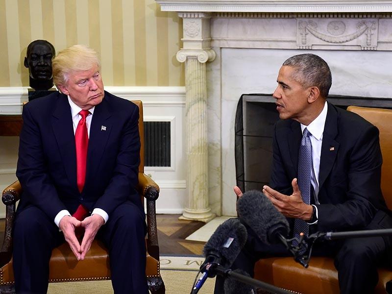 Президент США Барак Обама посоветовал избранному главе государства Дональду Трампу продолжить противостояние с Россией из-за отклонения Москвой от международных норм права