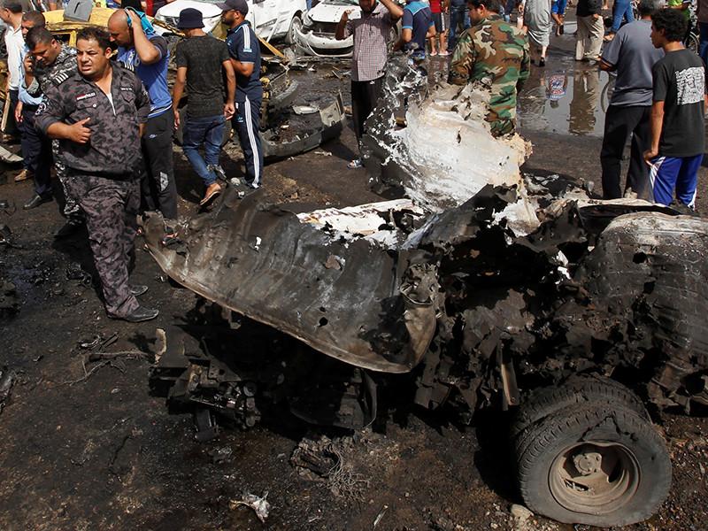 """В Ираке взорван конвой людей, которых эвакуировали с контролируемой террористами """"Исламского государства"""" (ИГ, группировка запрещена в России) территории. Среди погибших 17 мирных граждан, а также один полицейский"""