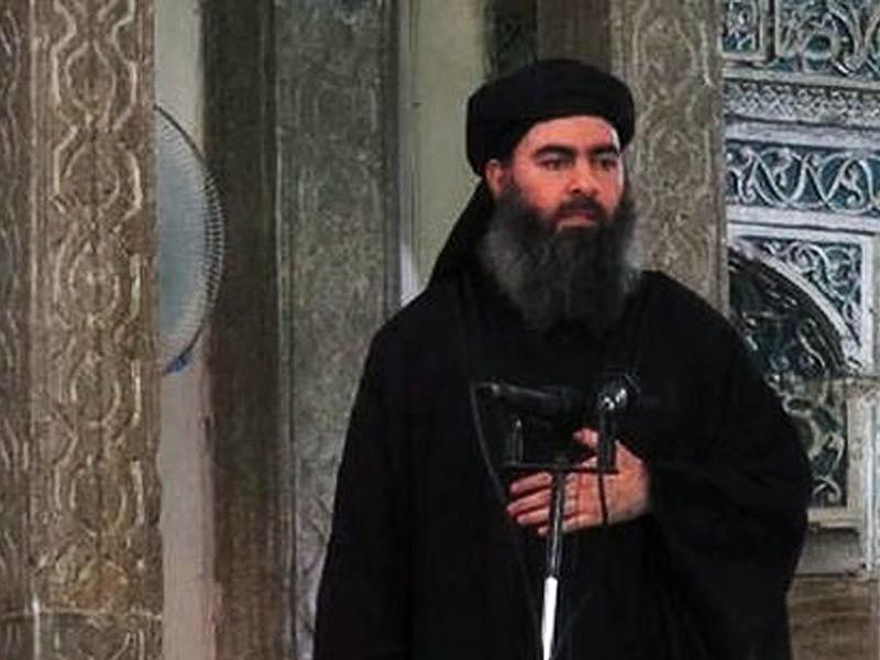 """Лидер террористической группировки """"Исламское государство"""" (ИГ, ИГИЛ, запрещена в РФ) Абу Бакр аль-Багдади все еще находится на территории иракского города Мосул"""