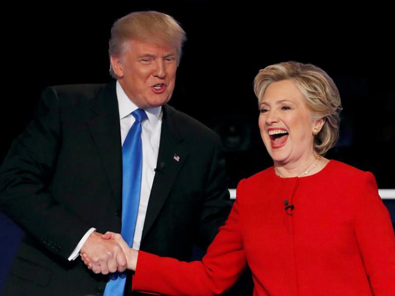 """Кандидаты в президенты США республиканец Дональд Трамп и демократ Хиллари Клинтон проведут в понедельник, 7 ноября, последние в этой длившейся полгода предвыборной кампании выступления в так называемых """"колеблющихся"""" штатах, от которых во многом зависит, кто одержит победу"""