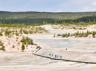 Йеллоустонский национальный парк был открыт в 1872 году
