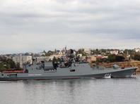 """Фрегат """"Адмирал Григорович"""" отправился из Севастополя к берегам Сирии"""