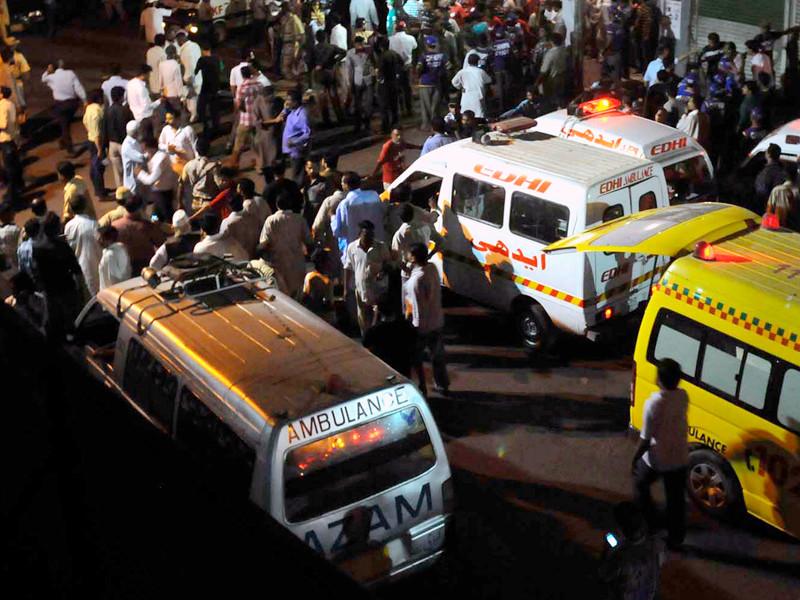 В Пакистане во время взрыва храма убиты более 30 человек