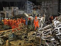 В Китае при обрушении на строящейся электростанции погибли 74 человека