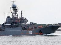 Два российских десантных корабля вошли в Средиземное море