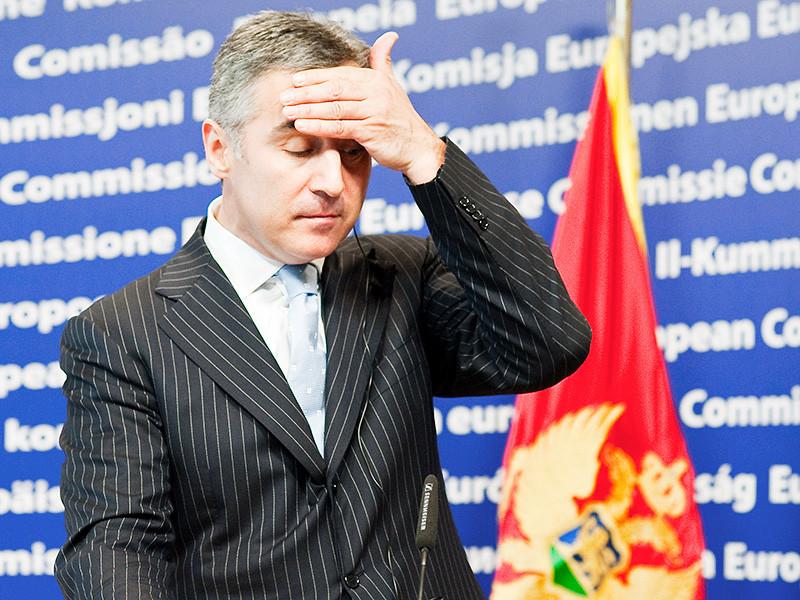 Покушение на премьера Черногории Мило Джукановича (на фото) и теракт в день выборов готовили русские националисты, объявил специальный прокурор страны Миливойе Катнич