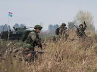 Российские, сербские и белорусские десантники в ходе учений отработали уничтожение террористов