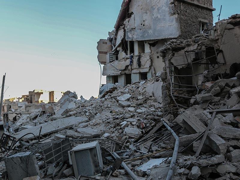В Сирии обстрелян гуманитарный коридор, ранения получили двое российских военных