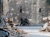 Из Сирии сообщают о возобновлении бомбардировок востока Алеппо, о котором не упоминал Шойгу