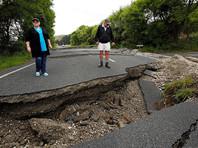 В Новой Зеландии произошло новое землетрясение магнитудой 6,2