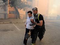 В Израиле эвакуировали более 75 тысяч жителей Хайфы из-за пожаров