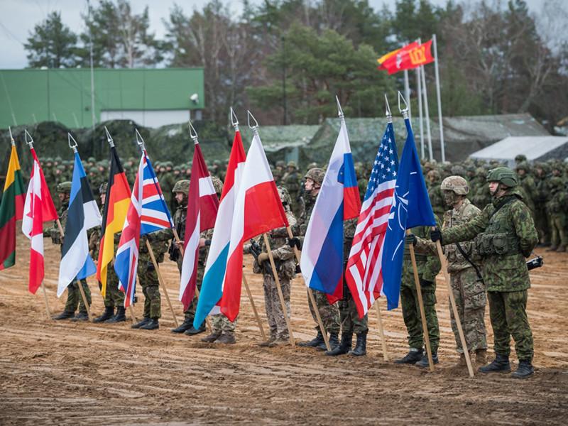 """На западе Литвы  проходят международные военные учения """"Железный меч-2016"""""""