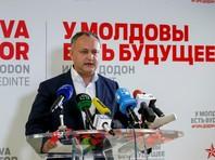 Социалист Игорь Додон одержал победу на президентских выборах в Молдавии
