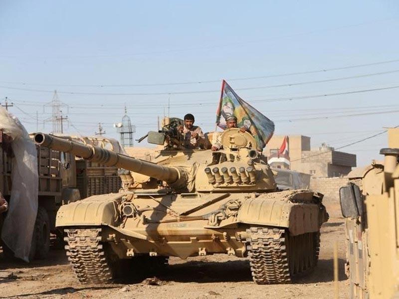 """Армия Ирака освободила от боевиков группировки """"Исламское государство"""" (ИГ, запрещена в РФ) шесть районов на востоке Мосула (115 квадратных километров)"""