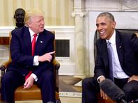 Барак Обама и Дональд Трамп, вашингтон, 10 ноября 2016 года