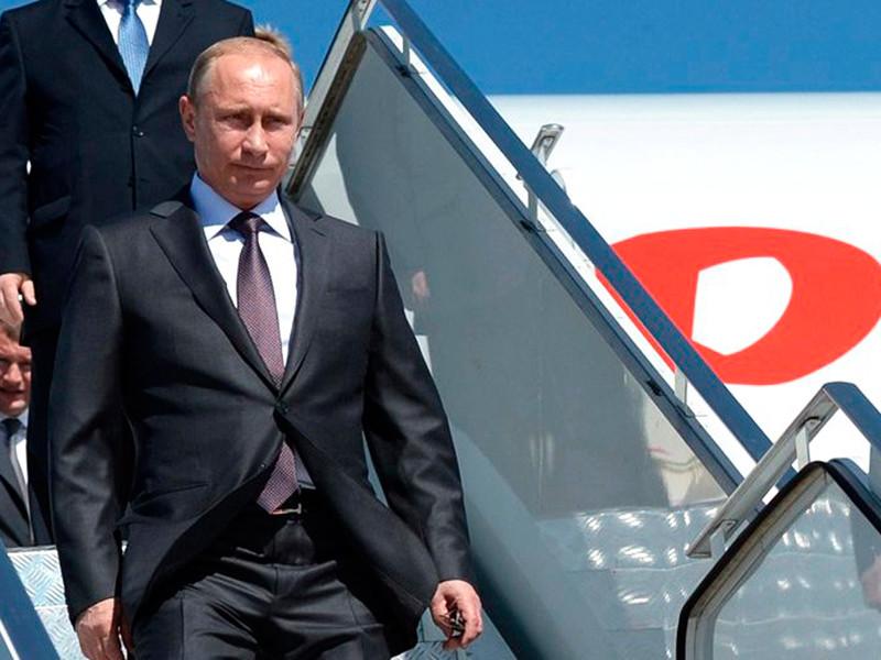 Путин в сопровождении глав крупнейших компаний прибыл в Лиму на саммит АТЭС