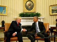 Обама встретился с Трампом в Белом доме