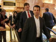 """Сын Трампа обсуждал с иностранными """"друзьями России"""" пути взаимодействия в Сирии"""