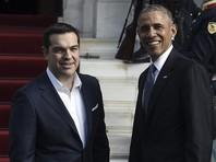 В Афинах президент США Барак Обама обсудил с премьер-министром Греции Алексисом Ципрасом необходимость сохранения санкций ЕС в отношении России