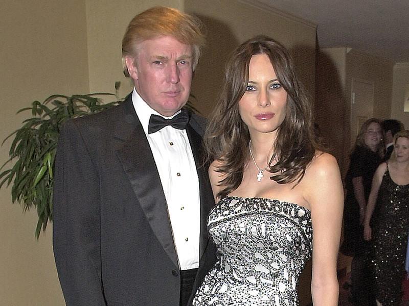 Дональд и Мелания Трамп, апрель 2001 года