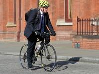 Главе британского МИДа Борису Джонсону запретили ездить на велосипеде по улицам Лондона ввиду террористической угрозы