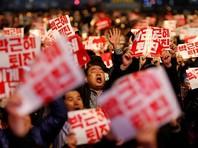 Десятки тысяч корейцев потребовали отставки президента на демонстрации в Сеуле