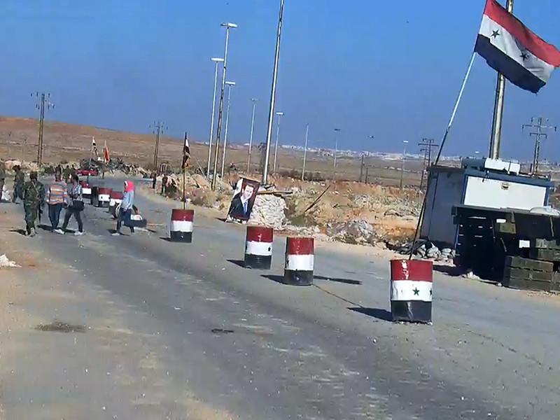 Дорога в Алеппо