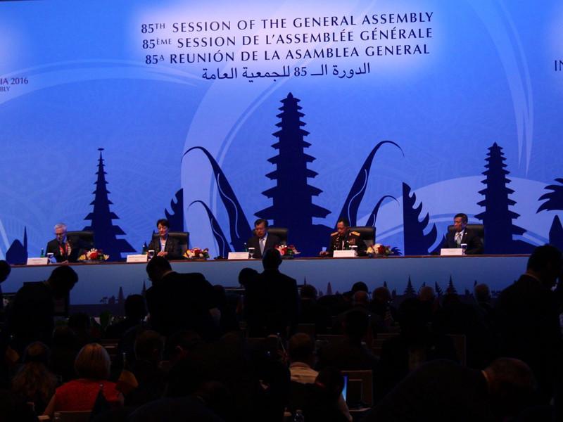Избрание состоялось в рамках 85-й сессии Генеральной ассамблеи Интерпола