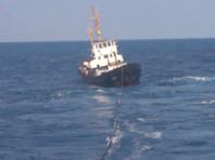 """Корабль """"Вице-адмирал Кулаков"""" доставил аварийное украинское судно к греческим берегам (ВИДЕО)"""
