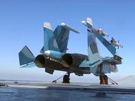 """Истребители Су-33 с крейсера """"Адмирал Кузнецов"""" уничтожили десятки боевиков """"Джабхат ан-Нусры"""""""