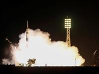 """Космический корабль  """"Союз"""" стартовал с Байконура с новым экипажем МКС"""