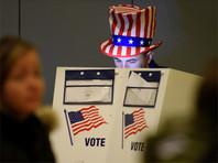 На избирательном участке в США