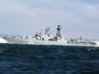 """Российский корабль """"Вице-адмирал Кулаков"""" спас экипаж украинского судна в Средиземном море"""