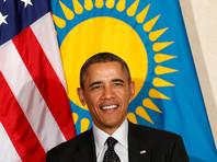 В Казахстане прославился аул Барак батыр, знак которого украсили портретом Обамы (ФОТО)