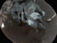 """Марсоход Curiosity нашел металлическое """"яйцо"""", пролежавшее на Марсе несколько миллионов лет"""