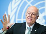 Спецпосланник ООН предложил возобновить межсирийские переговоры